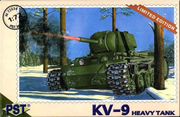 PST72034   КВ-9        KV-9 Heavy Tank (thumb10094)