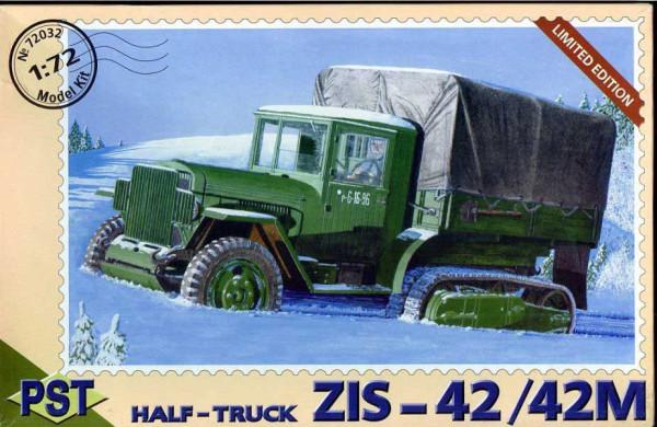 PST72032   ЗиС-42          Zis-42/42M Halftrack (thumb10090)