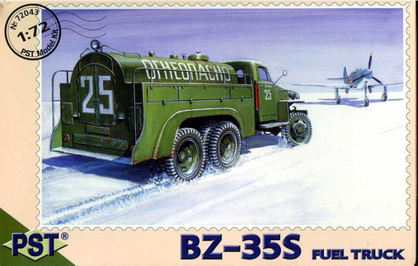 PST72043   БЗ-35С          BZ-35S Fuel Tanker based on US6 Studebaker (thumb10112)