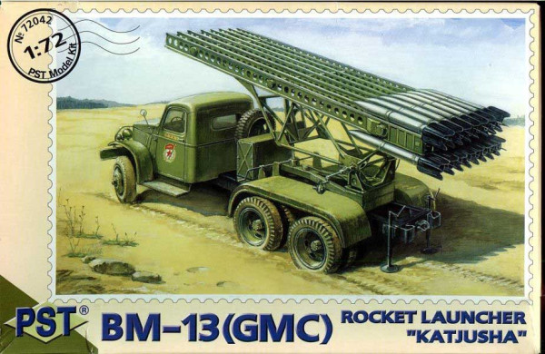 "PST72042   БМ-13(GMC)       BM-13 - Rocket Launcher ""Katjusa"" based on GMC (thumb10110)"