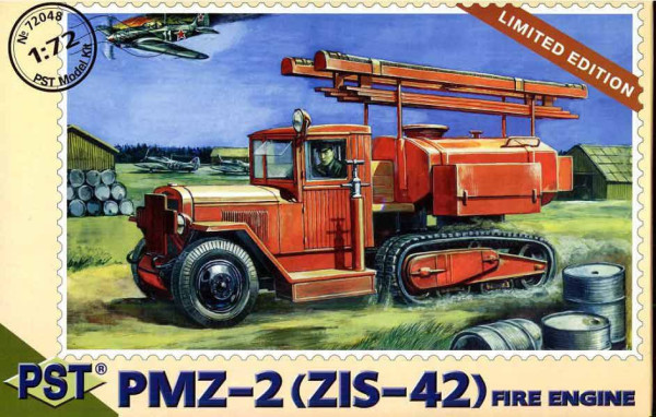 PST72048   ПМЗ-2(ЗиС-42)           PMZ-2 (Zis-6) Fire Engine (thumb10122)