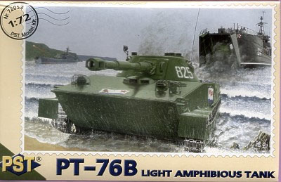 PST72053   ПТ-76Б        PT-76B Light Amphibious Tank - Postwar (thumb10132)