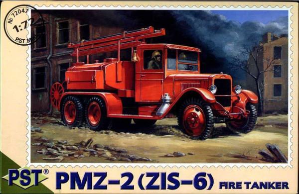 PST72047   ПМЗ-2(ЗиС-6)       PMZ-2 (Zis-6) Fire Tanker (thumb10120)