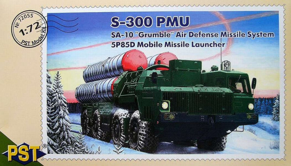 PST72055   С-300ПМУ 5П85Д          S-300 PMU 'mobile air defence missile launcher type 5P85B (thumb10136)