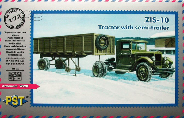 PST72063   ЗиС-10          Zis 10 - Tractor with semi-trailer (thumb10152)