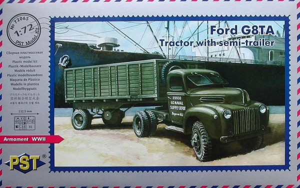 PST72065   Ford G8TA with Semitrailer (thumb10156)