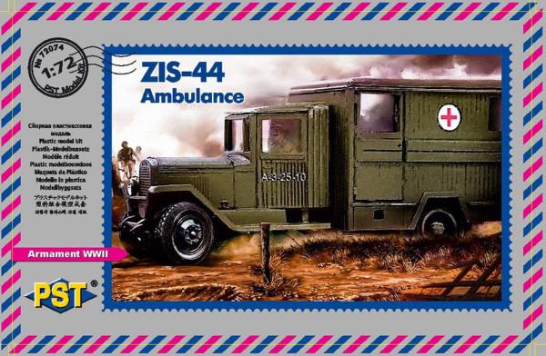 PST72074   Санитарный автомобиль ЗиС-44        Zis-44 Ambulance — collaboration between «PST/Zebrano» (thumb10174)