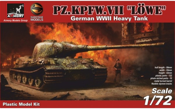 AR 72201          1/72 Pz.VII Lowe - German WWII prototype tank (thumb12999)