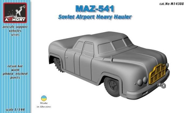 AR M14308    1/144 MAZ-541 airfield heavy hauler (thumb12606)