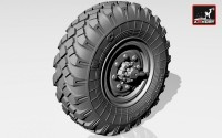 AR AC7257     1/72 ZiL-131 wheels w/ M-93 tires (attach2 13025)