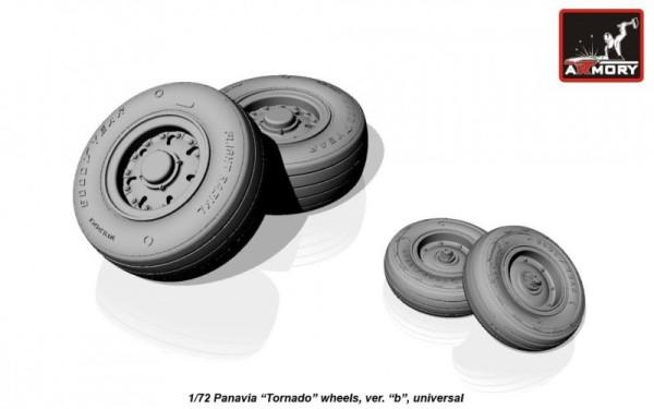 """AR AW72501b    1/72 Panavia """"Tornado"""" wheels, ver.""""b"""" (thumb12967)"""