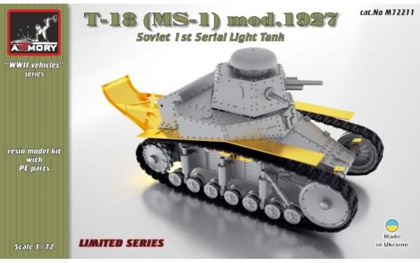 AR M72211      1/72 T-18 (MS-1) Soviet light tank (thumb13002)