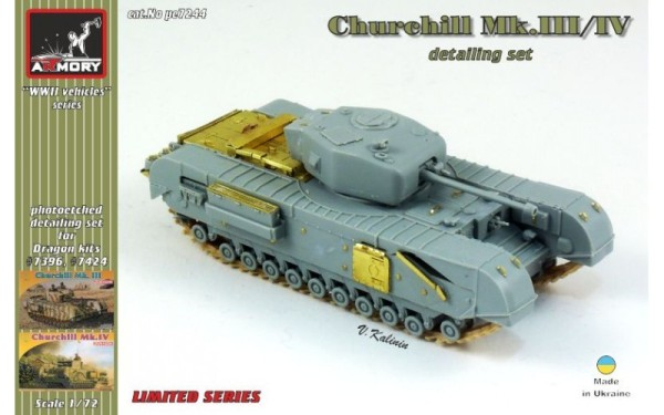 AR pe7244     1/72 Churchill Mk.III/IV detailing set (thumb13093)
