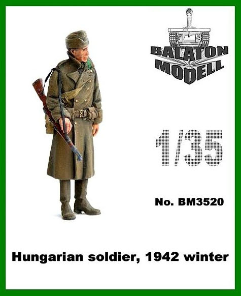 BM3520   Венгерский солдат, 1942 зима х 1 фигура          Hungarian soldier, 1942 winter x 1 fig (thumb9043)