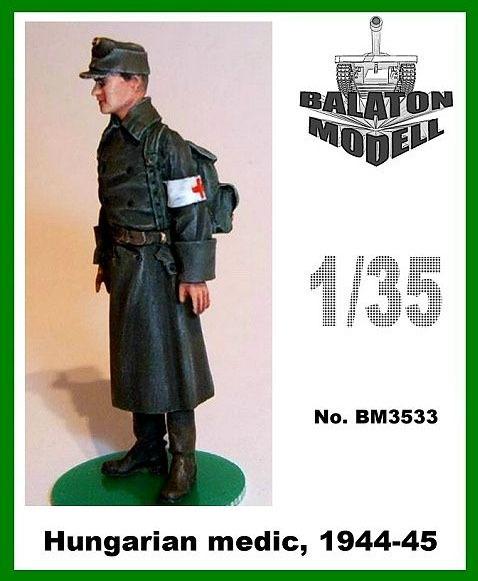 BM3533   Венгерский медик 1944-1945 х 1 фигурка         Hun. Medic, 1944-45 x1 fig. (thumb9061)