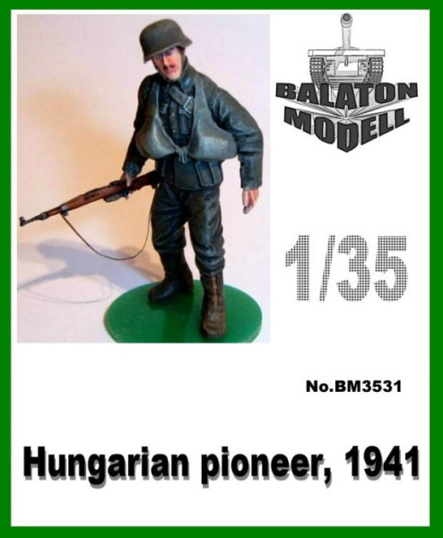 BM3531   Венгерский разведчик 1941 х 1 фигурка          Hun. Pioneer, 1941 x1 fig. (thumb9059)