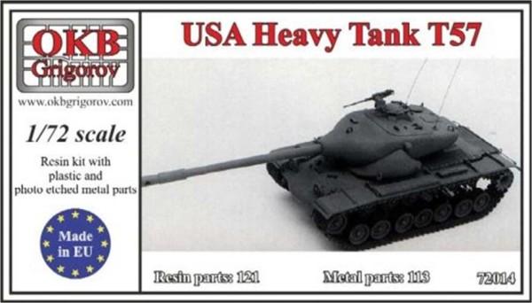 OKBV72014   Американский опытный тяжелый танк Т-57             USA Heavy Tank Т57 (thumb8475)