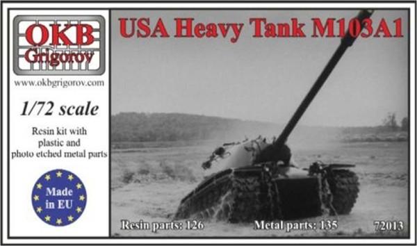 OKBV72013   Американский тяжелый танк М-103А1                USA Heavy Tank M103A1 (thumb8473)