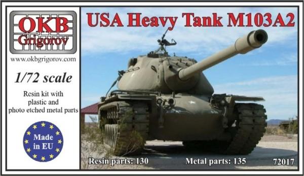 OKBV72017   Американский тяжелый танк М-103А2             USA Heavy Tank M103A2 (thumb8479)