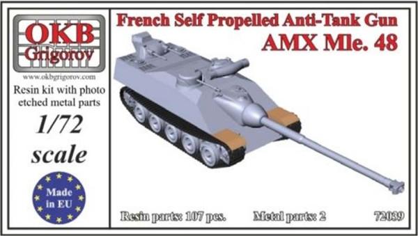 OKBV72039   Французская противотанковая САУ AMX Mle.48               French Self Propelled Anti-Tank Gun AMX Mle.48 (thumb8521)