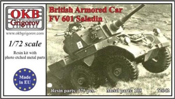 OKBV72042   Британский бронированный автомобиль FV 601 Саладин                     British Armored Car FV 601 Saladin (thumb8527)