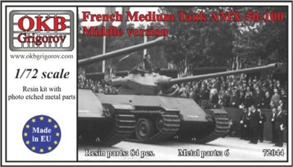 OKBV72044   Французский средний танк AMX-50-100              French Medium Tank AMX-50-100, Middle version (thumb8531)