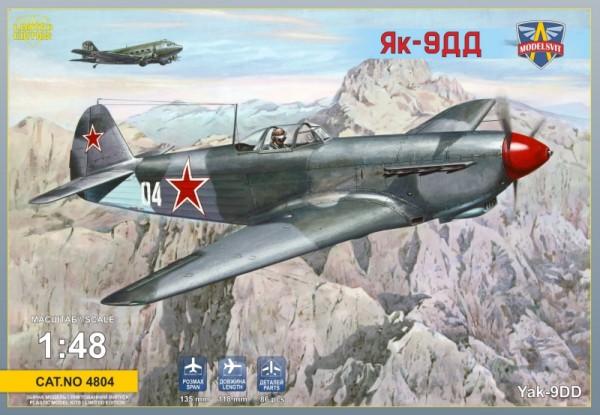 MSVIT4804   Yakovlev Yak-9DD Soviet fighter (thumb9325)