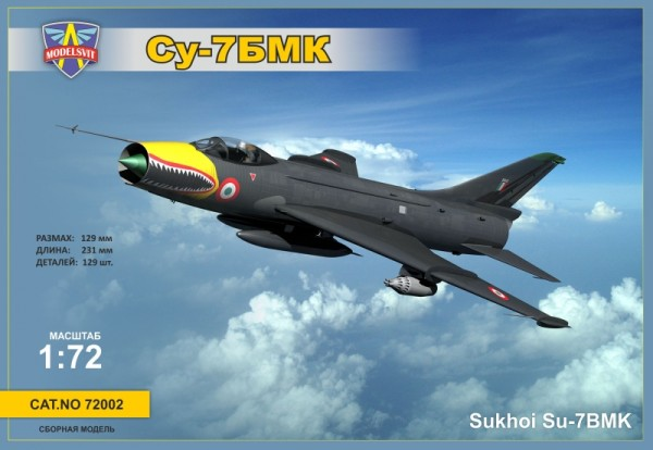 MSVIT72002   Sukhoi Su-7BMK Soviet fighter-bomber, export version (thumb9333)