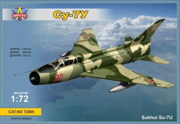 MSVIT72005   Sukhoi Su-7U Soviet training aircraft (thumb9339)