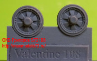 OKBS72108 Катки для танка Valentine, тип 2.        Wheels for Valentine, type 2 (thumb8688)