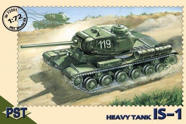 PST72001   ИС-1     JS-1 Heavy Tank (thumb10032)