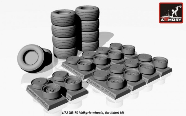 AR AW72314    1/72 XB-70 Valkyrie wheels (thumb12929)