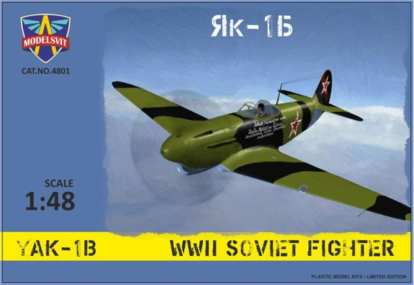 MSVIT4801   Yak-1B WWII Soviet fighter (thumb9319)