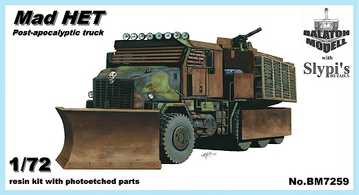 "BM7259   Автомобиль   ""Mad HET"" post-apocalyptic truck (thumb12119)"