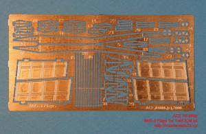 ACEPE4806   Фототравление для модели МИГ-3 от ICM закрылки                                                                     MiG-3 Flaps (Mikoyan Gurievich for 1/48 ICM kit) (attach2 12246)
