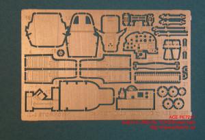 ACEPE7217   Фототравление для модели  Ilushin IL-2M3 (for TOKO/Roden kits) (attach1 12253)