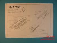 ACEPE7220   Фототравление для модели СУ-2 от ICM закрылки                                                                    Su-2 Flaps. Photo-etched update set for ICM kit. (attach1 12200)