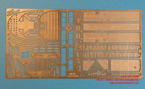 ACEPE7249   Фототравление для модели МИ-8 от ЗВЕЗДЫ интерьер                                                                       Mi-8T Interior Set (for Zvezda kit) (attach1 12207)