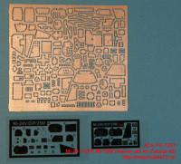 ACEPE 7257   Фототравление для модели МИ-24 V/D/P, МИ-35 М от ЗВЕЗДЫ интерьер                                            Mi-24 V/D/P, Mi-35M (interior set for Zvezda kit) (attach3 12225)