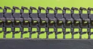 OKBS48041 Траки для танка Pz.III/IV , 40 cm, тип 1 Tracks for Pz.III/IV , 40 cm, type 1 (attach1 10448)