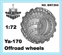BM7260 Колеса Я-170   Ya170 off-road wheels set (thumb11075)