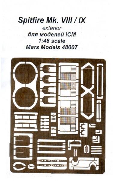 Mars-PE48007  Spitfire Mk VIII/IX внешний вид, ICM (thumb11570)