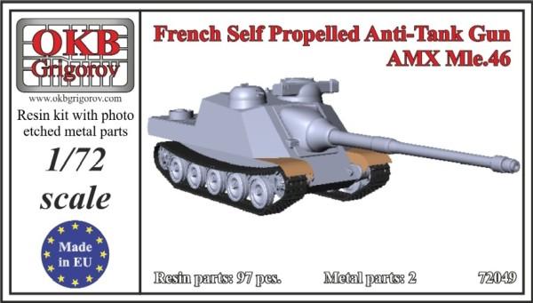 OKBV72049   Французская противотанковая САУ  AMX Mle.46        French Self Propelled Anti-Tank Gun AMX Mle.46 (thumb12107)