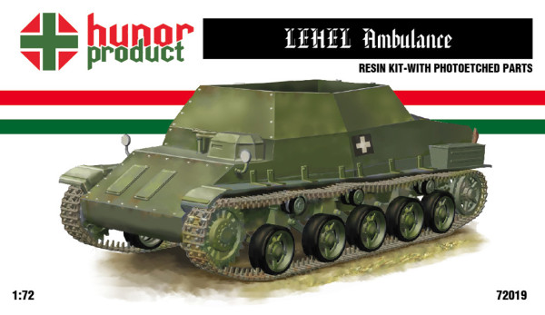 HP72019   42M LEHEL Ambulance Tank (thumb12084)