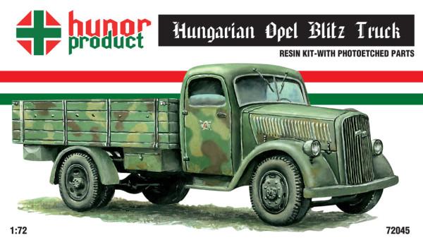 HP72045   Hungarian version OPEL BLITZ (Civil version in the Army) (thumb12086)