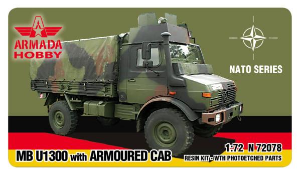 AMN72078   MB U 1300 w. ARMOURED CAB (thumb12059)