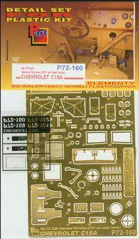 PART72160     Chevrolet C.15A No.13 Cab General Service (IBG) (thumb13771)
