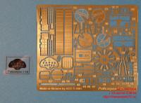 ACEPE7204   Фототравление для модели И-16 от ICM               I-16 Photo-etched update set for ICM kit (attach2 12193)