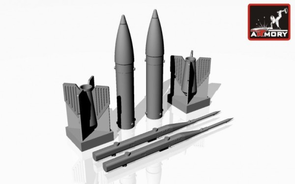 "AR ACA4815   1/48 S-21 heavy unguided missiles w/ PU-12-40UD ""Voron"" launcher (thumb12346)"