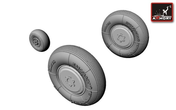 AR AW48003   1/48 Yakovlev Yak-1 wheels (thumb12359)